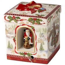 CHRISTMAS TOYS CAJA REGALO GRANDE CUADRADO.TREN VILLEROY & BOCH