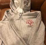 Adult full zip hoodie, $25