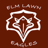 Clear static car decal with logo, $4