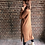 Thumbnail: SWEATER DRESS WITH FANTE TERRACOTTA