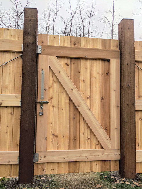 Custom Cedar Gate with Stainless Steel Hardware and Magnetic Latch.jpg