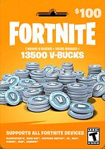 Fortnite 13,500 V-Bucks
