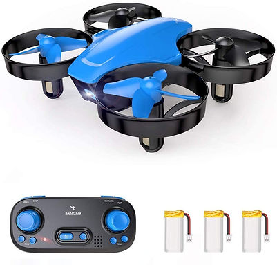 Mini Drone - SNAPTAIN SP350 Mini Drone Portable Throw'n Go RC Quadcopter with 3 Batteries, Circle Flying, 3D Flip, Speed Adjustment & Altitude Hold