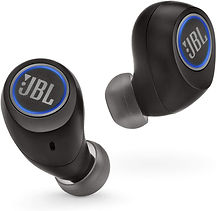 JBL Free X Truly Wireless In-Ear Headphones with Built-In Remote and Microphone (Black)