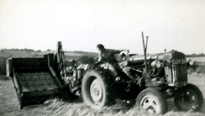 1960's - Dad on his tractor.