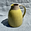 Thumbnail: Stoneware Jug with incised lines and yellow glaze