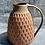 Thumbnail: Stoneware jug with orange checkerboard