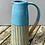 Thumbnail: Stoneware jug in Peacock blue