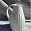 Thumbnail: White stoneware Jug in satin white glaze