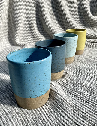 Stoneware beakers