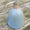 Thumbnail: Stoneware jug/wine pitcher with Chun glaze and incised lines