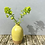 Thumbnail: Stoneware bottle vase in yellow speckled glaze