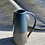 Thumbnail: Stoneware Jug with inlaid slipped lines and Deep sea blue glaze