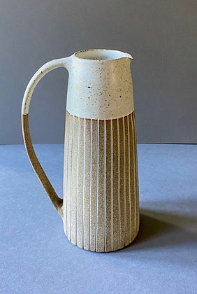 Stoneware Jug with inlaid slip