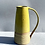 Thumbnail: Stoneware jug with inlaid slip and a yellow glaze