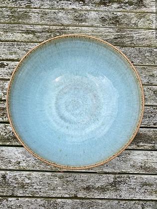 Large Stoneware salad/fruit bowl in Chun
