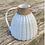 Thumbnail: Stoneware jug with white satin glaze