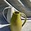 Thumbnail: White stoneware Jug in yellow glaze