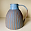 Thumbnail: Stoneware Jug with inlaid slip lines in Duck egg blue