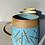 Thumbnail: Stoneware mugs with random pattern