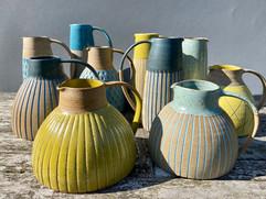 Stoneware Jugs, Ceramics by Kate Garwood