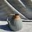 Thumbnail: Stoneware jug with Chun glaze