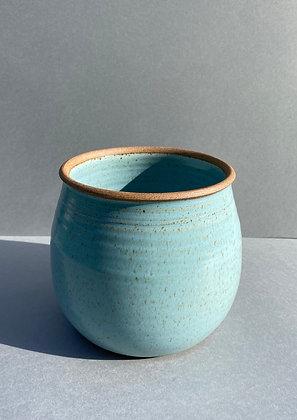 Large Stoneware flower pot
