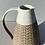 Thumbnail: Stoneware Jug with inlaid slipped pattern and white glaze
