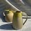 Thumbnail: Stoneware Jug with inlaid slipped lines and a satin yellow glaze
