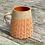 Thumbnail: Stoneware Mug with herringbone slip