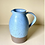 Thumbnail: Stoneware jug in duck egg blue
