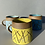 Thumbnail: SECOND - Stoneware mug in yellow