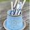 Thumbnail: Stoneware cutlery drainer