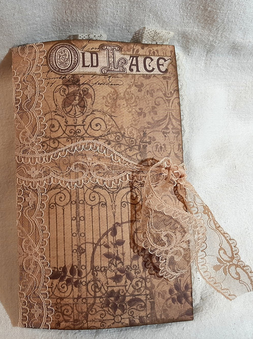 Stamperia Old Lace Journal #2
