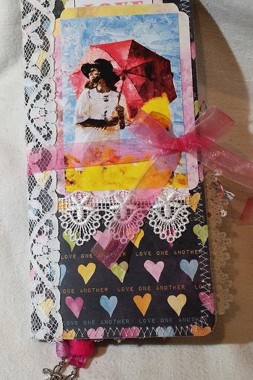 """Love"" TN-style Faith Junk Journal"