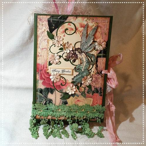 """""""Fairy Garden"""" Vintage Junk Journal"""