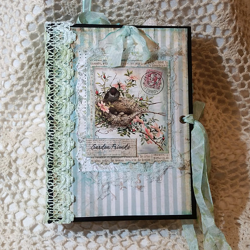 """Garden Friends"" Vintage-Style Journal"