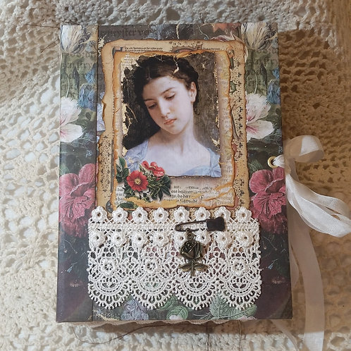 """Medieval Floral Maidens"" Journal"