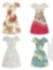 4 dresses