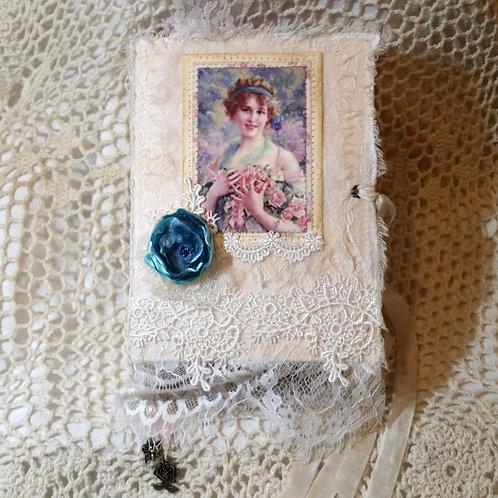 """""""Lady Rose"""" Vintage Junk Journal"""