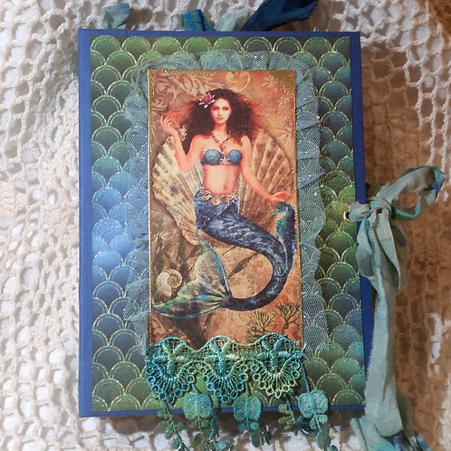 """The Mermaids"" Vintage Journal"
