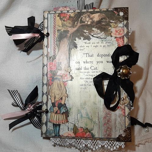 Alice Vintage-Style Junk Journal
