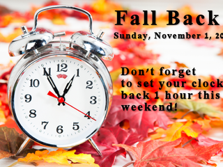 Time to Fall Back: Do you know why we change our clocks for Daylight Saving Time?