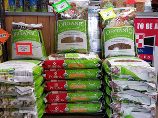 NEW! Purina® Organic Chicken Feed at D&L Farm and Home - Denton!