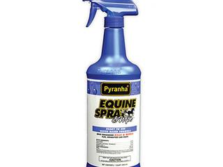 $2.00 OFF Pyranha Equine Spray & Wipe™ (Water-Based Formula)