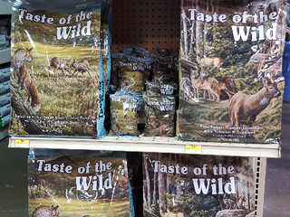 NEW Taste of the Wild flavors!