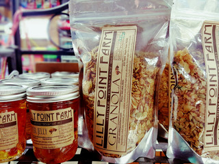 New! Lilly Point Farm All Natural Granola and Pepper Jelly