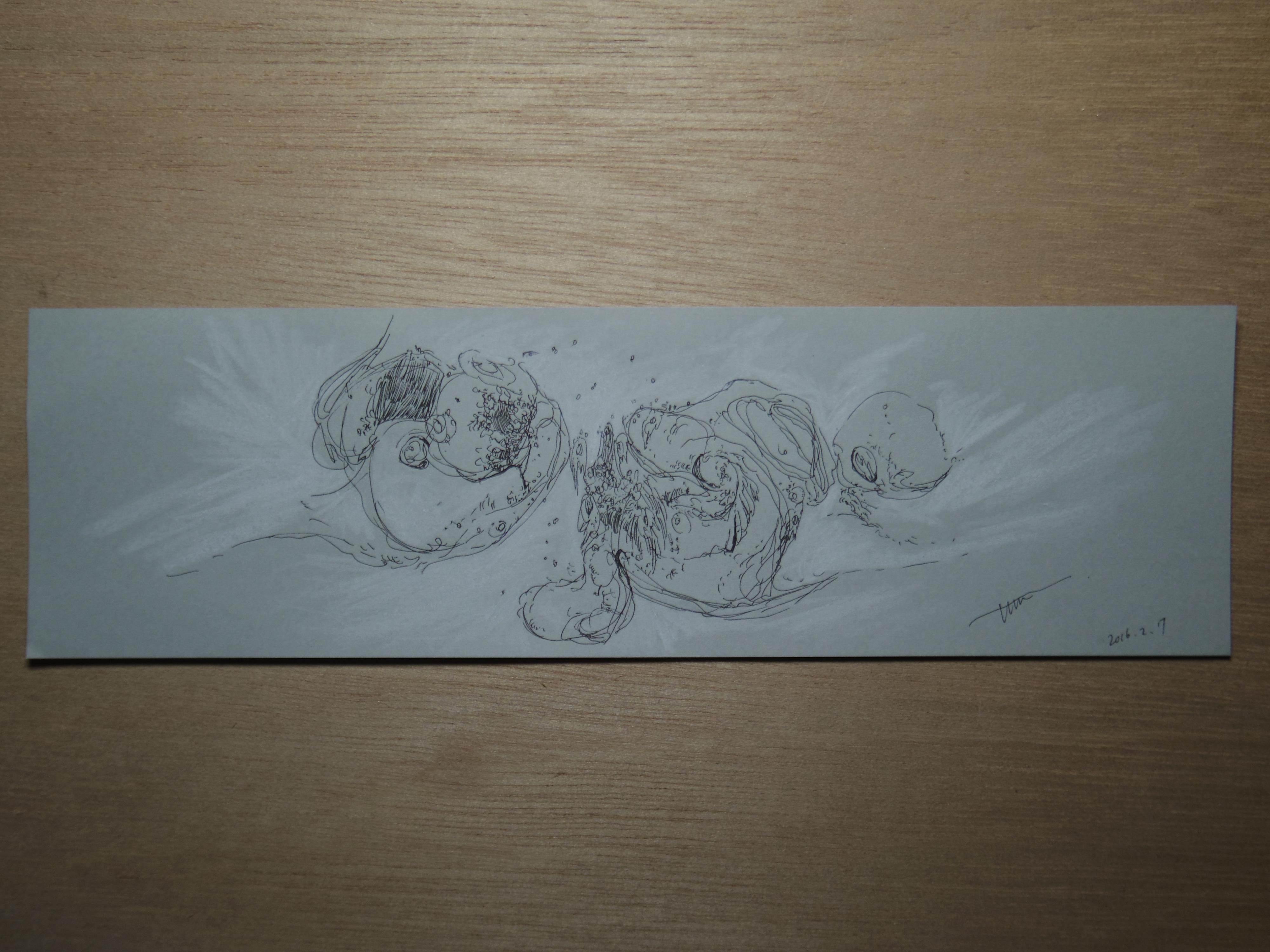 灰景線描 01
