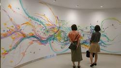 西山ウエルケア エントランス壁画
