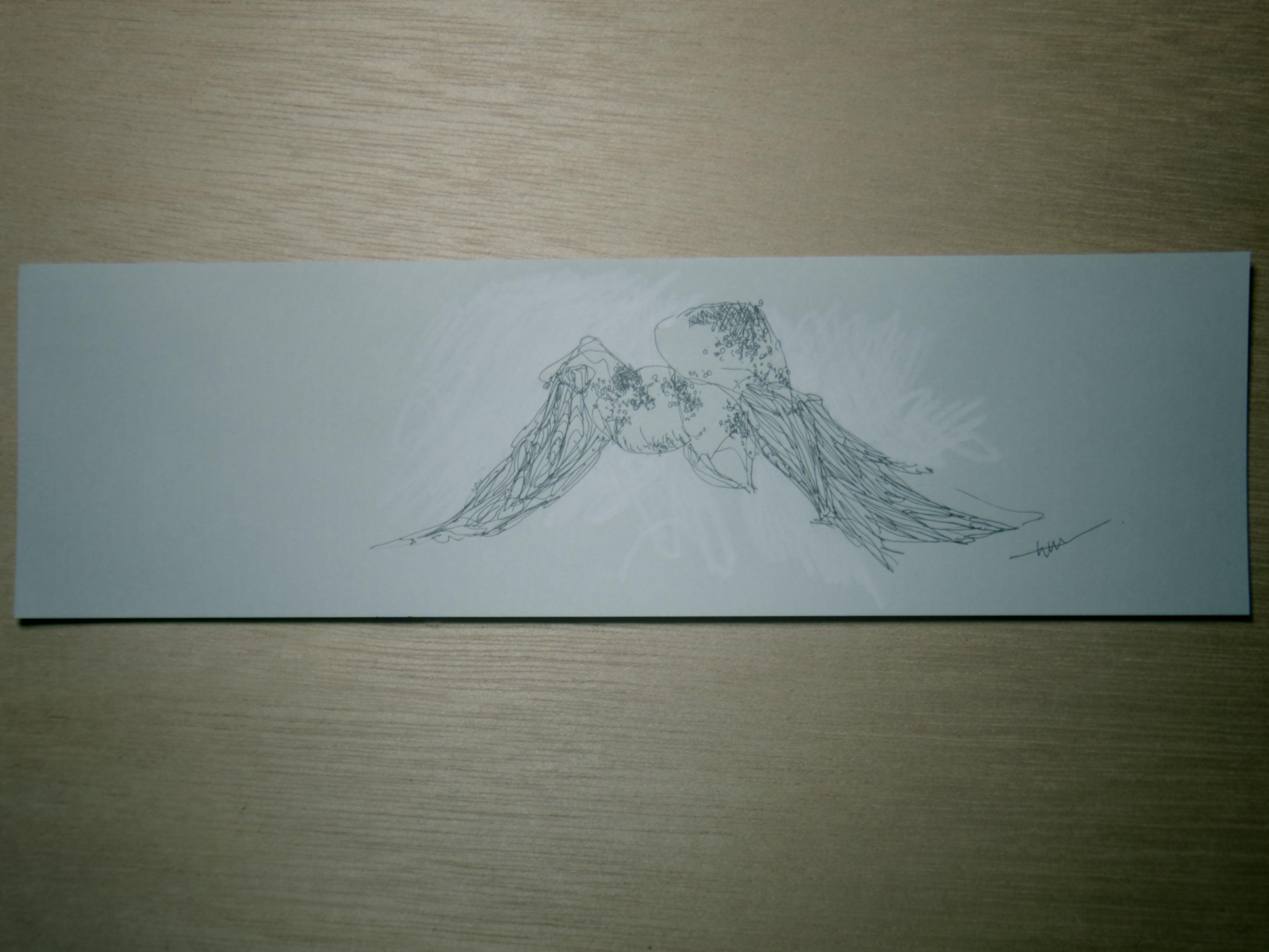 灰景線描 08